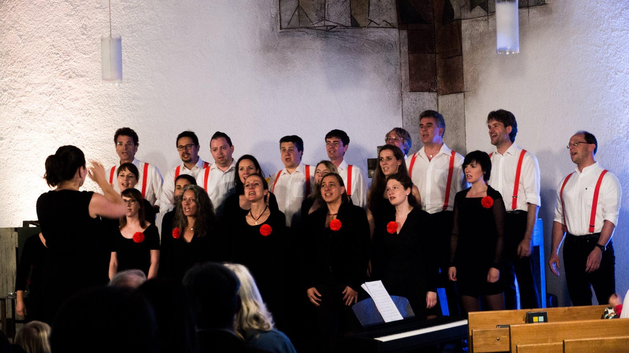 Chornetto München beim Konzert am 16.7.2016